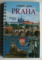 28 DB GYÖNYÖRŰ KÉPESLAP PRÁGÁRÓL (ADDRESS BOOK) 2007 KÖNYV KIVÁLÓ ÁLLAPOTBAN
