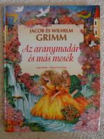 Jacob és Wilhelm Grimm: Az aranymadár  és más mesék - régi mesekönyv (1998)