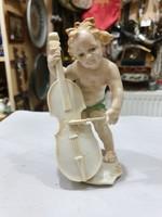Régi ENSZ porcelán figura