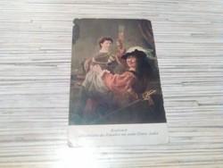 Antik képeslap.(1918)