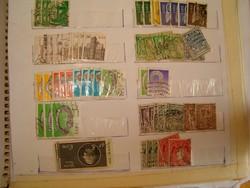 60 darab régi ír bélyeg eíre szép darabok lot 1 forintról alció   KIÁRUSÍTÁS jó licitálást