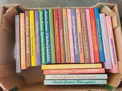 Hombre Jimenes könyvek 24 db egyben