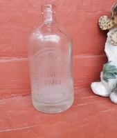 Retro 0.5 literes szódásüveg, üveg,  nosztalgia darab, dísznek , Libor Sándor Törökszentmiklós