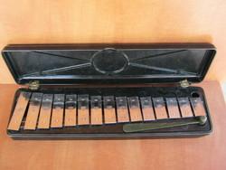 Retro metalofon xilofon