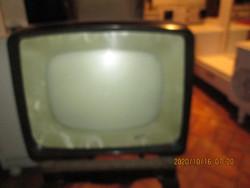 Régi  kékes  TV
