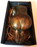 Akt bronz szobor