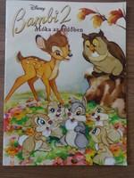 Disney Bambi 2. - Móka az erdőben - régi mesefüzet, ritka!!! (2006)