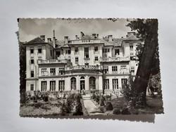 Régi képeslap 1963 Balatonföldvár Kistext üdülő