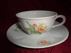 Gránit magyar porcelán antik teáscsésze + alátét.