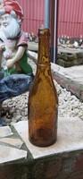1915-ös Schätz József Budapest sörösüveg, üveg, nosztalgia darab, paraszti dekoráció