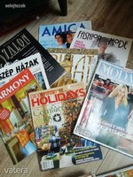 ÚJSÁG Divatlapok, lakberendezés vegyes újság csomag