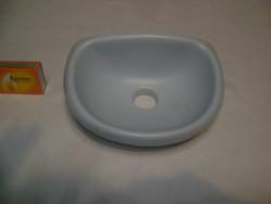 Retro fürdőszobai fali szappantartó vagy egyéb tartó - türkiz