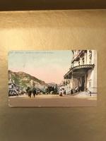 Montecarlo 1914 képeslap bélyeggel