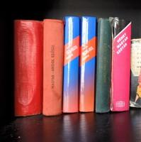 Angol, német, orosz kis szótárak