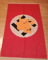 II. Világháborús Náci Horogkeresztes zászló