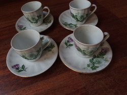 Finom kinai porcelán csészék 4 db