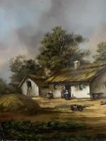 Olaj festmény Méhész Tamás