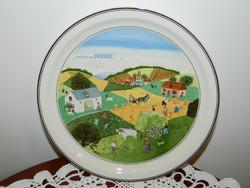"""Villeroy & Boch fali tányér """"Nyár"""""""