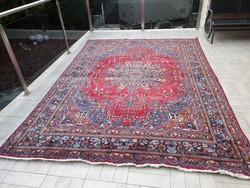 Antik iráni mashadi minta 239x348 kézi gyapjú perzsa szőnyeg MM_300