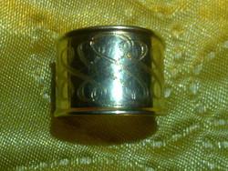 14 K arany magyar fémjeles mesterjelzett  ötvös gyűrű 14 ct gold ring with hungarian hallmark