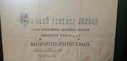 1878 szent-jakab havi 2. nap. Országgyűlési meghívó