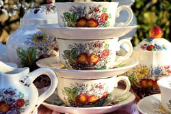Angol  Spode reynolds kávés ,teás készlet