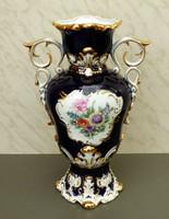 Barokk Hollóházi váza gyönyörű