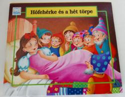 HÓFEHÉRKE ÉS A HÉT TÖRPE - 3 D TÉRBELI MESÉSKÖNYV