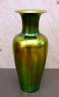 Zsolnay eozin váza  36 cm.