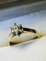 Eljegyzési arany gyűrű