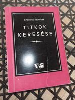 Krüzsely Erzsébet _ TITKOK KERESÉSE _ könyvritkaság