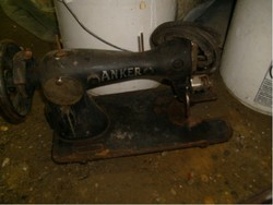 E8 Anker antik varrógép kb 35 éve áll gyűjtőknek alkatrésznek eladó
