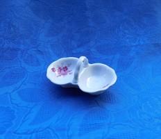 Zsolnay porcelán asztali sótartó borstartó (9/d)
