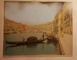 3 db korabeli velencei nagymáretű fénykép