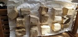 15 darab régi mosószappan