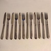 Evőeszköz S.T. & Co. E.P.N.S. 12 darabos készlet kés villa 16 cm