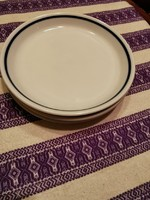 Zsolnay kék csíkos süteményes tányér 17 cm