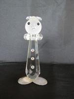 Bohemia glass art deco üveg bohóc