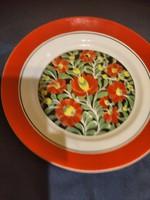Régi szép fali tányér 24 cm