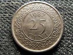 Suriname 25 cent 1987 (id36617)