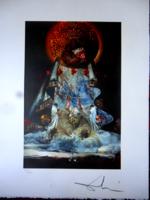 Dali: Mária, a világ királynője - csodálatos litográfia!