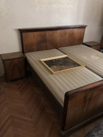 Tömör fa hálószoba bútor