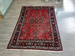 Hussianbadi 108x153 kézi csomózású gyapjú perzsa szőnyeg KZM_311