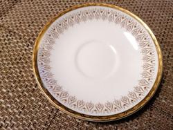 Royal Albert csészealj, fehér-arany díszítéssel, hibátlan állapotban. 2 db elérhető