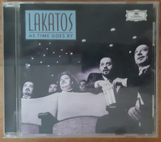 ROBY LAKATOS  : AS TIME GOES BY   -  CD  -  VILÁGZENE