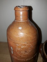 Herzogthum nassau agyag-flaska