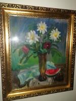 Farkas - 1937 - antik festmény - eredeti-gyönyörű- 1 forintról, garanciával!