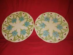 Schütz Blansko fali tányér 2 db