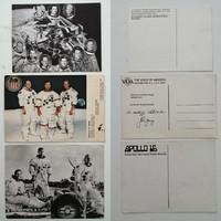 Űrhajós levelezőlapok (Apollo 16,Skylab)