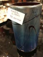 Kralik irizáló üveg váza
